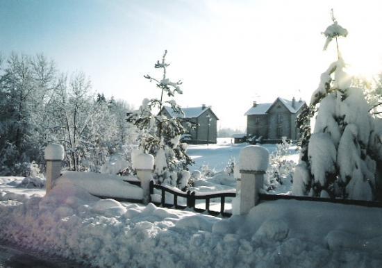 Les cités sous la neige